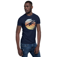 Load image into Gallery viewer, Sunset Ghost Cub Reverse Short-Sleeve Unisex T-Shirt