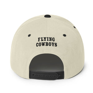 Flying Cowboys Black/Natural Snapback