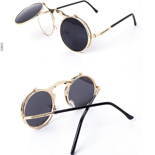 Steam Punk Flip Up Sunnies