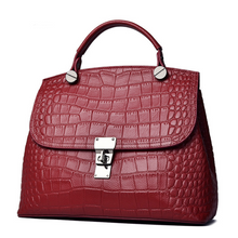 Load image into Gallery viewer, Fashion & Luxury Crocodile Leather  Handbags