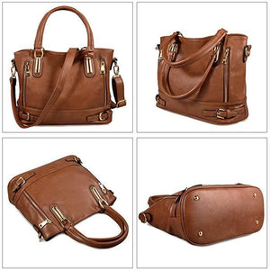 Genuine Leather Handbags Luxury Women Messenger Bags