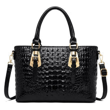 Load image into Gallery viewer, 2020 Crocodile Embossed High Quality Leather Handbag