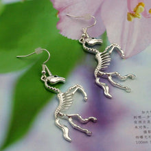Load image into Gallery viewer, Undead Unicorn Earrings