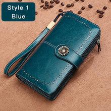 Load image into Gallery viewer, Hot Sale Women Clutch Leather Wallet