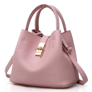 Women's Casual PU Leather Shoulder Bag