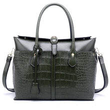 Load image into Gallery viewer, Crocodile Business Tote Bag