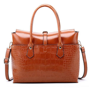 Crocodile Business Tote Bag