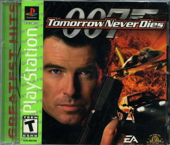 007 Tomorrow Never Dies [Greatest Hits] PS1