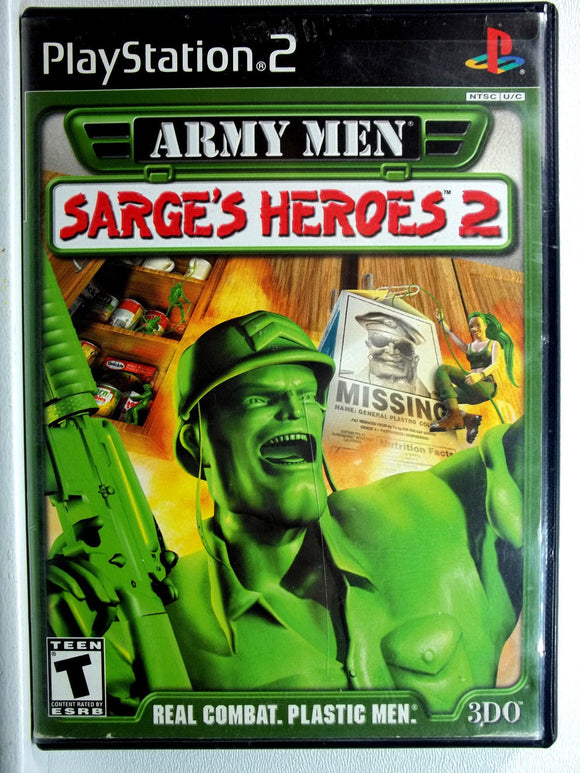 Army Men Sarge's Heroes 2 PS2