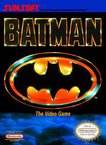 Batman The Video Game NES