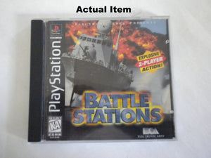 Battle Stations PS1