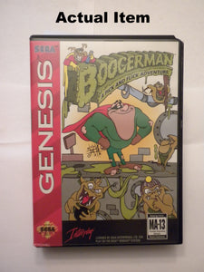Boogerman: A Pick and Flick Adventure Sega