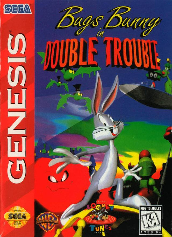 Bugs Bunny in Double Trouble Sega