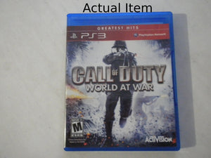 Call of Duty: World at War [Greatest Hits] PS3