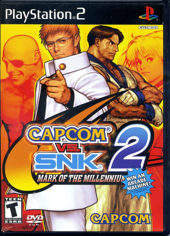 Capcom vs SNK 2 PS2
