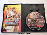 Capcom vs SNK 2 inside of case.