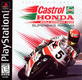 Castrol Honda Superbike Racing PS1