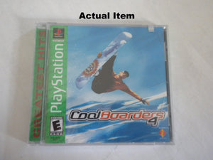 Cool Boarders 4 [Greatest Hits] PS1