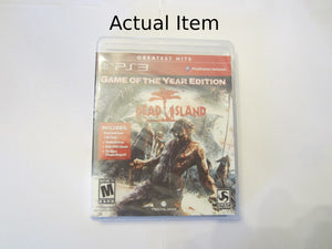 Dead Island Game Of The Year Edition [Greatest Hits] PS3