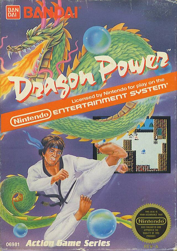 Dragon Power NES