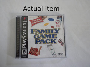 Family Game Pack PS1