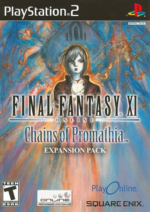 Final Fantasy XI Chains of Promathia PS2