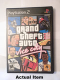 Grand Theft Auto Vice City front of case.