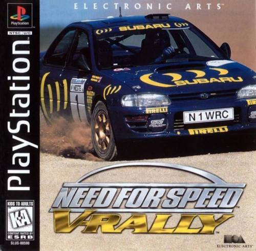 Need for Speed V-Rally PS1
