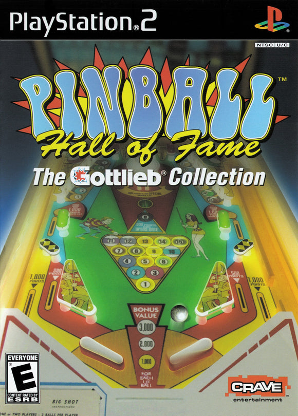 Pinball Hall of Fame The Gottlieb Collection - New