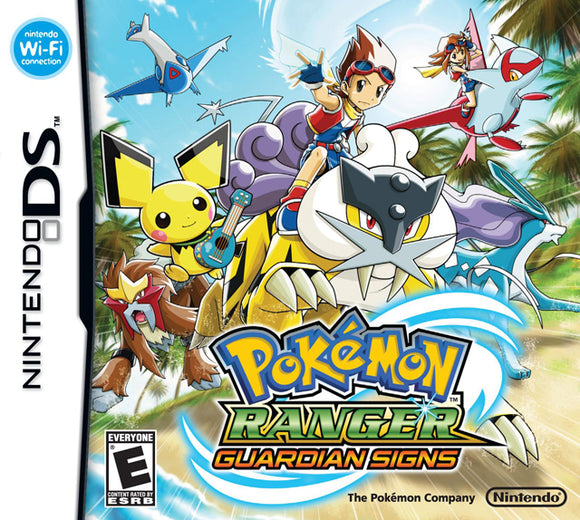 Pokemon Ranger: Guardian Signs - New