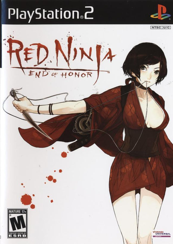 Red Ninja End of Honor