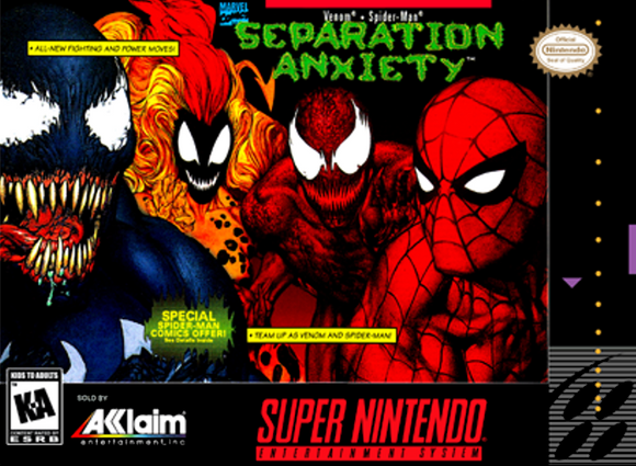 Venom & Spider-Man: Separation Anxiety