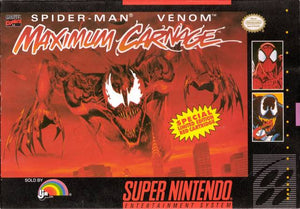 Spider-Man & Venom: Maximum Carnage [Red Cartridge]