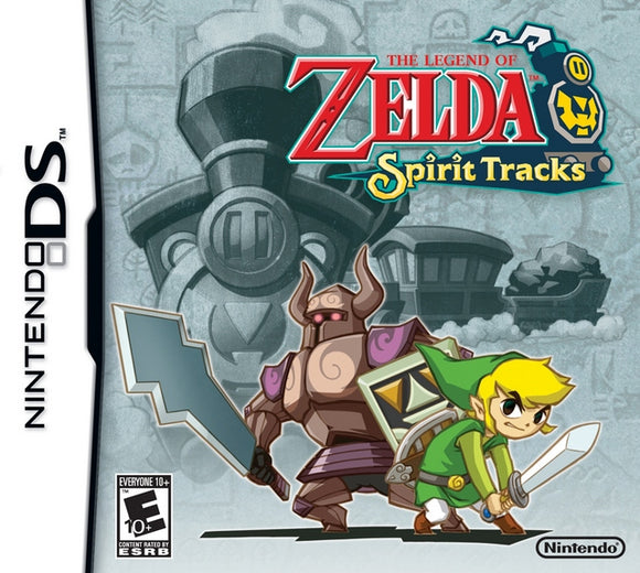 The Legend of Zelda: Spirit Tracks - New