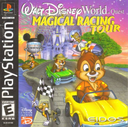 Walt Disney World Quest: Magical Racing Tour PS1