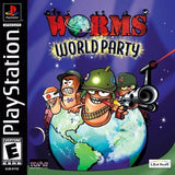 Worms World Party PS1