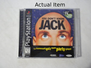 You Don't Know Jack PS1