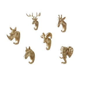 Wall Coat Rack Home Wall Decoration Animal Head Rack - Jala & Noor Unique Gardening and Home Products