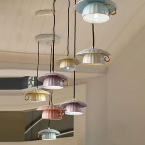 Cup of Whimsy Pendant Lights - Jala & Noor Unique Gardening and Home Products