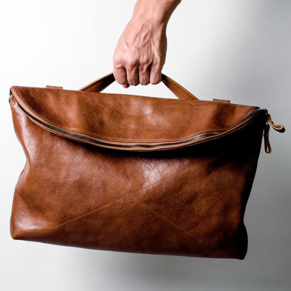Watson: Moroccan Leather Unisex Multifunction Bag - Jala & Noor Unique Gardening and Home Products