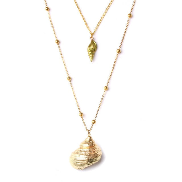 Bohemia Seashell Necklace - Jala & Noor Unique Gardening and Home Products