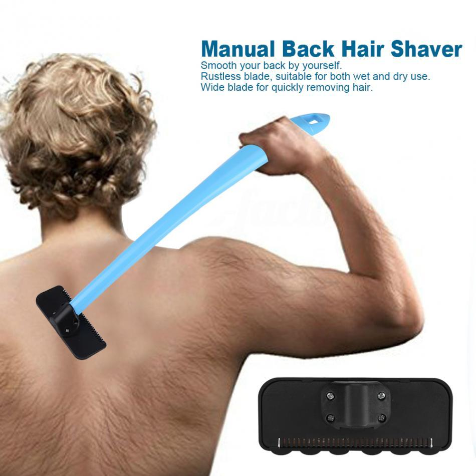 Do-it-yourself Pain-free Back Shaver Kit