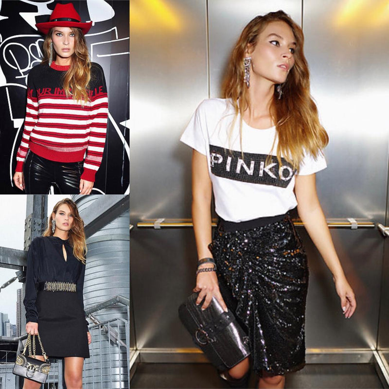 Welcome PINKO! The brand for sophisticated, independent and sexy woman!