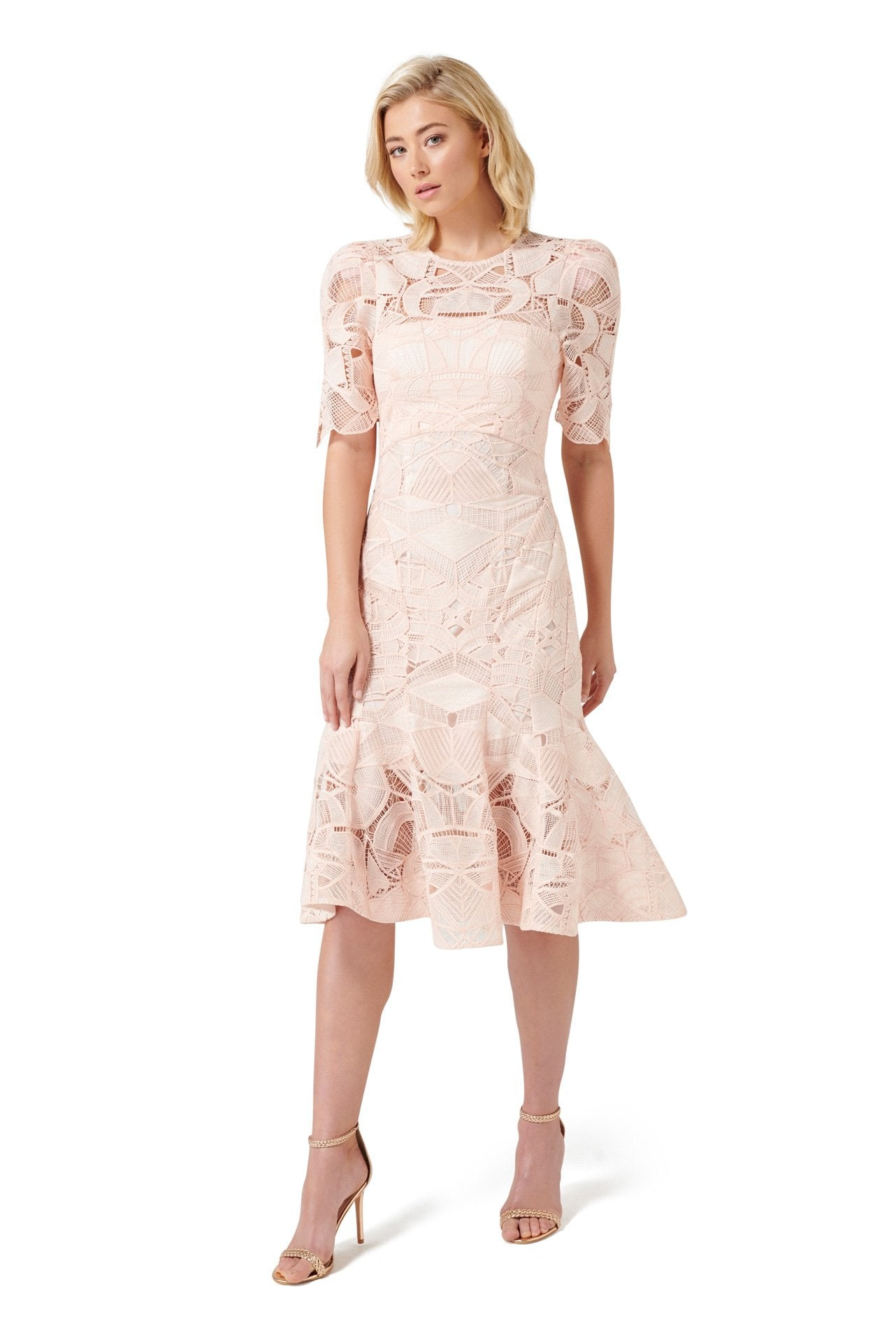 dfe44ef54e23 Blush Florence Midi dress – BU Club
