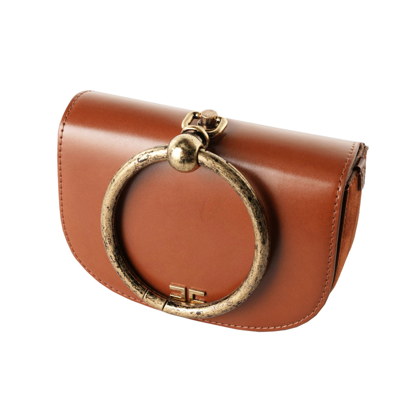 Cinnamon Small Bag with a Ring