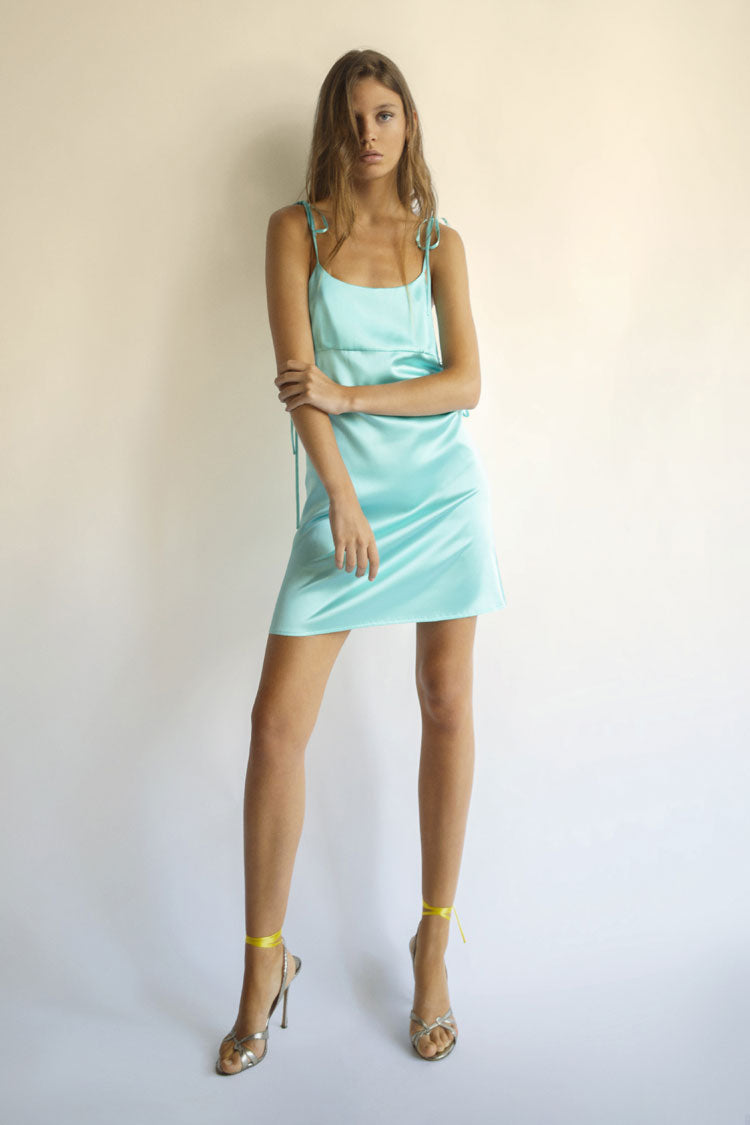 Angie Dress in Turquoise