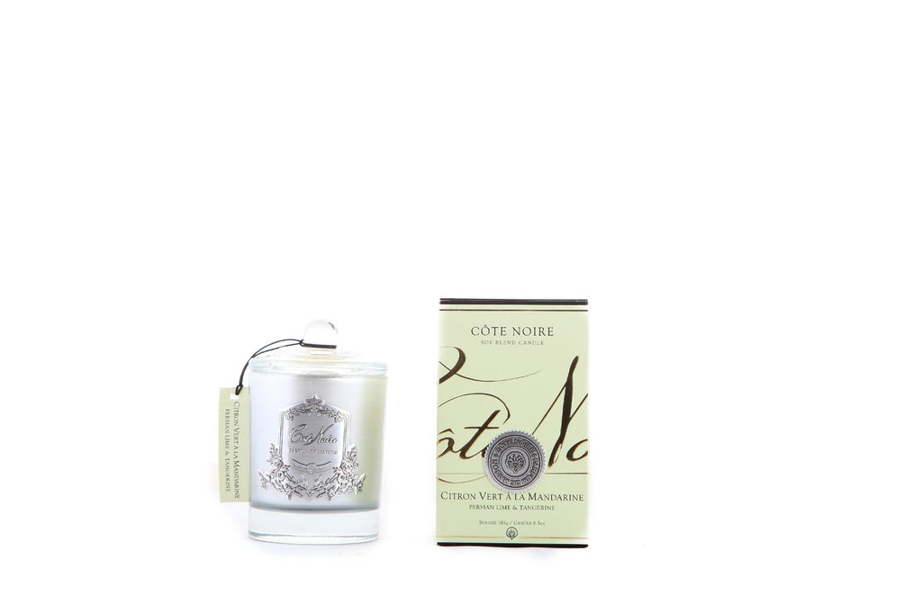 Silver Persian Lime Luxury 100 hrs Candle