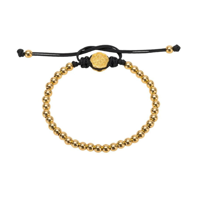 Gold Full Mini Ball Bracelet