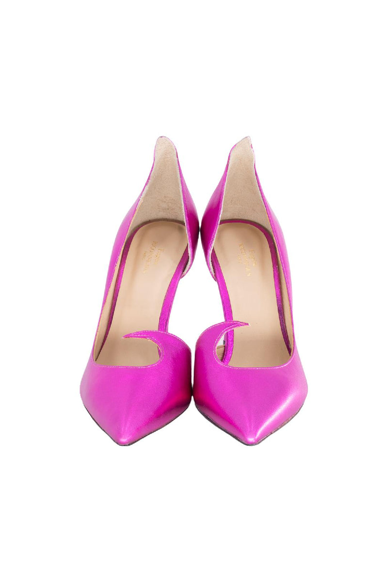Barbie Pink Metallic D'orsay Pump