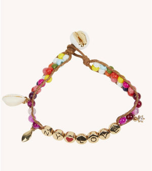 NY LOVE beaded Bracelet
